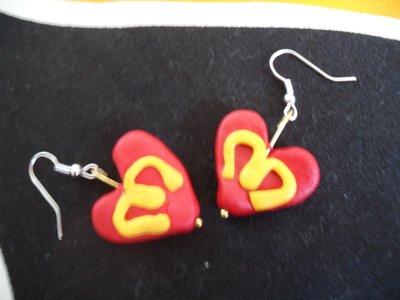 orecchini I love mc