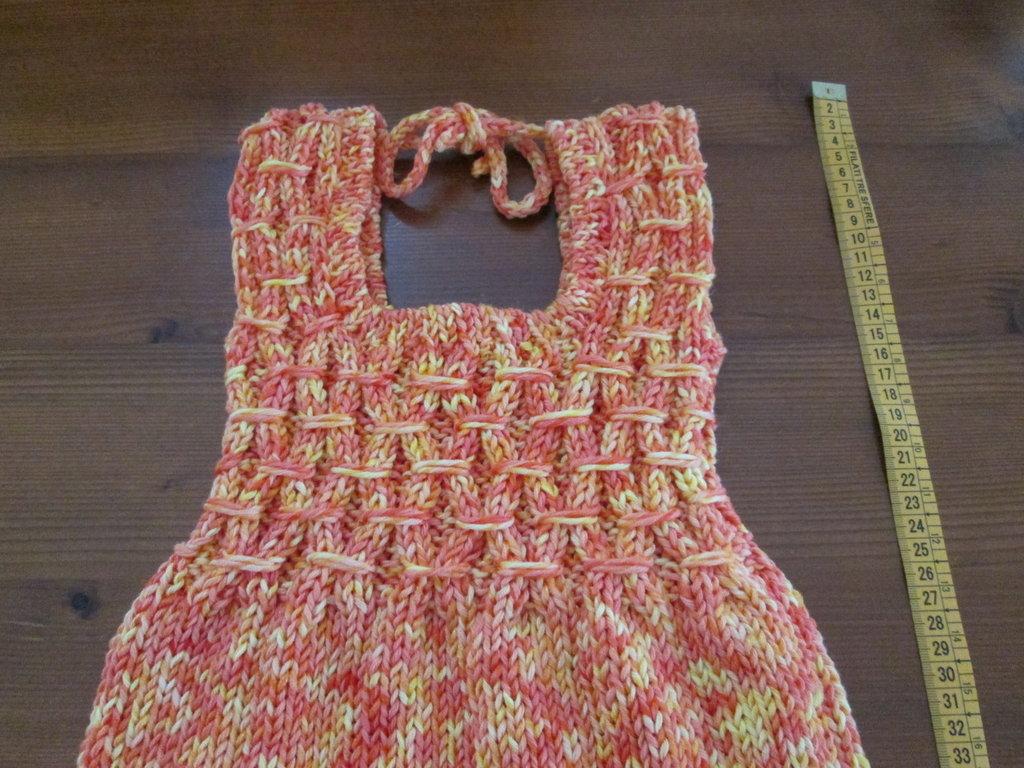 Vestitino bimba in cotone ( 24 mesi )