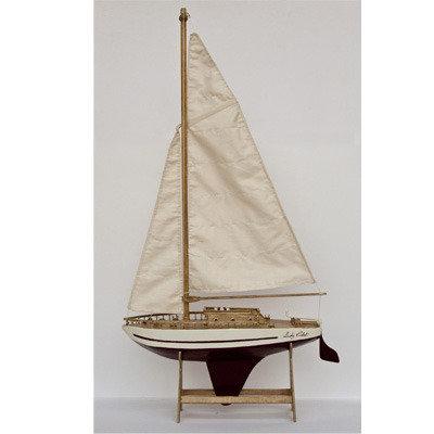 Modellino Barca a vela da esposizione - Lady Violet