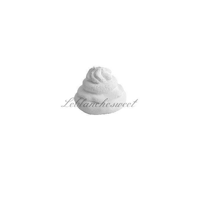 Cupcake panna montata light,gesso profumato