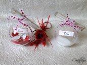 Loveball - sfera portabiglietto glitter di San Valentino