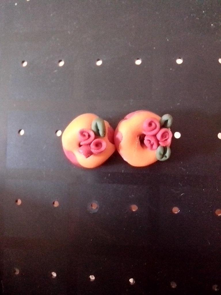orecchini a perno per bimbi