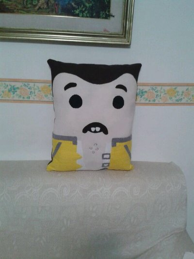 Introvabile cuscino Freddy mercury queen