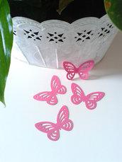 Farfalle MAGENTA cartoncino