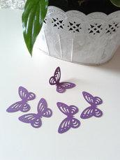 Farfalle VIOLA cartoncino