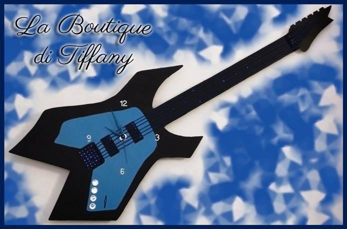 Orologio chitarra