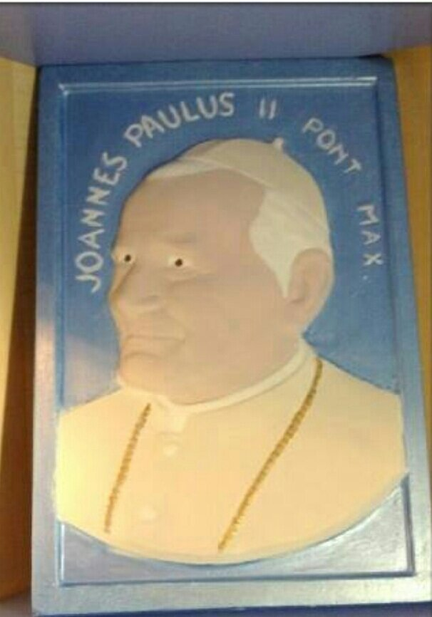 Quadro Giovanni Paolo II