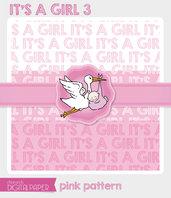 DIGITALPAPER A4 / CARTA DIGITALE - It's a Girl 3
