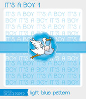 DIGITALPAPER A4 / CARTA DIGITALE - It's a Boy 1