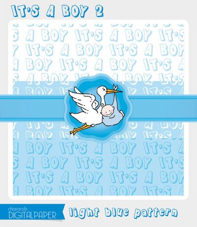 DIGITALPAPER A4 / CARTA DIGITALE - It's a Boy 2