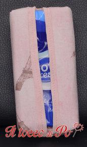 Portafazzoletti in stoffa PARIGI, porta cleenex, porta fazzoletti