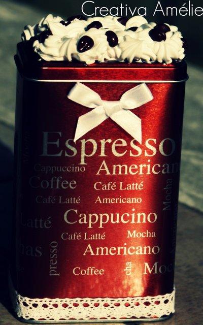 SCATOLA CAFFÉ