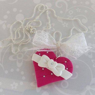 Collana Romantic Fucsia