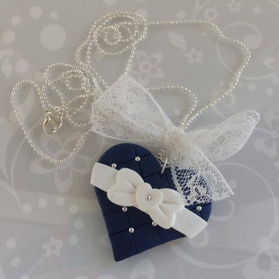 Collana Romantic Blu
