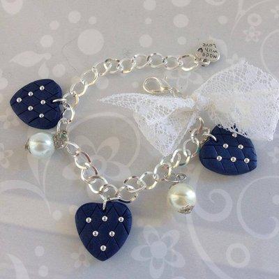 Bracciale Romantic Blu