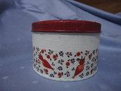 Scatolina Cappucetto Rosso in Latta