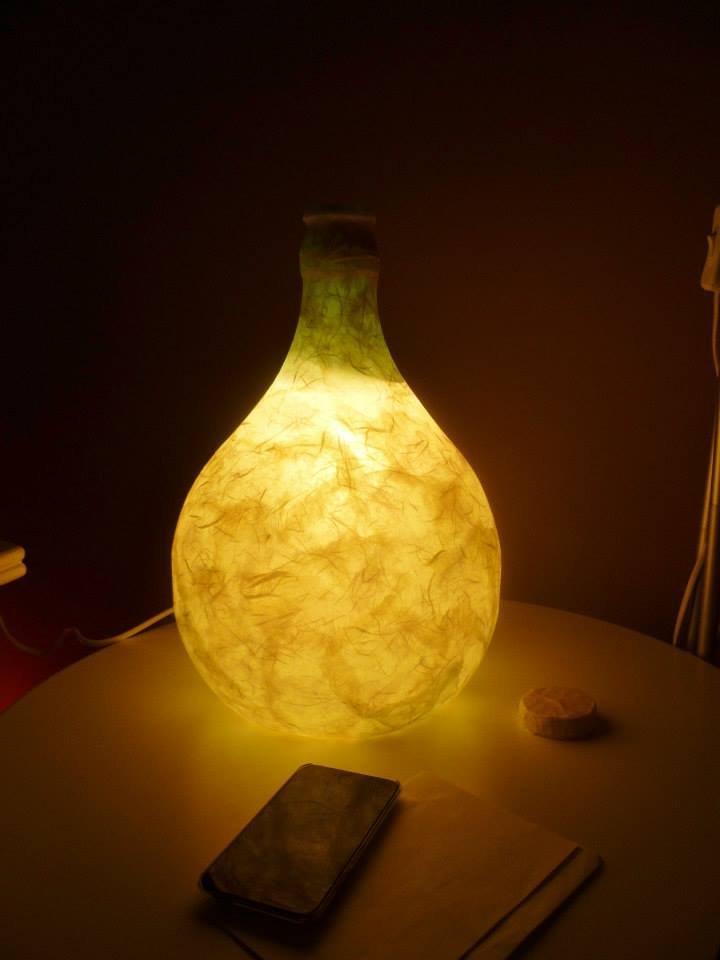 Lampada damigiana moonrise 5 adornos design per la casa for Oggetto design casa