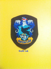 Toppa Adesiva Patch Corvonero Ravenclaw Harry Potter