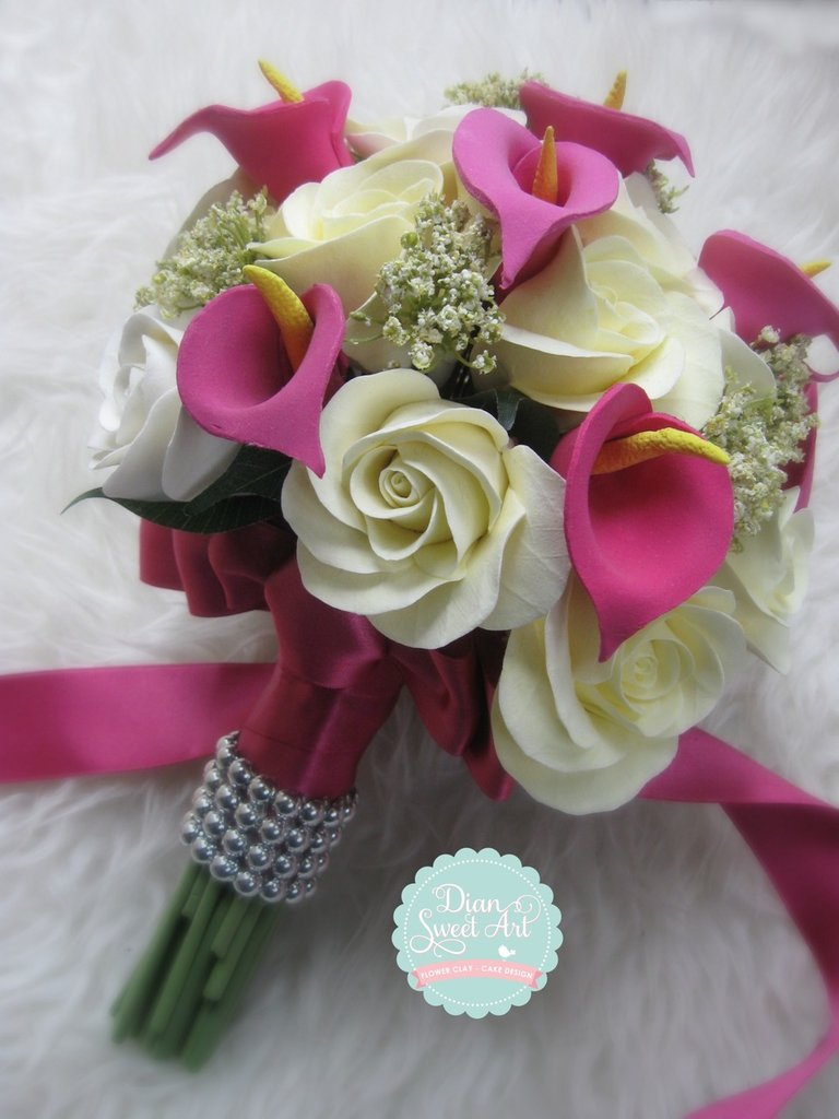 bouquet rossa calla lilly