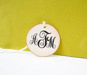 Etichette Monogrammi, Etichette con lniziali Personalizzabili, Etichette Matrimonio, Etichette Eleganti 25 pezzi