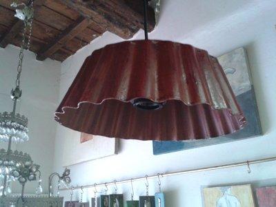 lampada creata da teglia