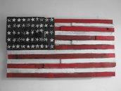 Quadro Bandiera americana