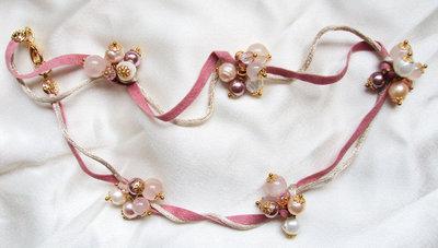 "Collana perle ""In rosa"""