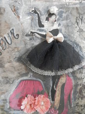 Quadro ballerina francese