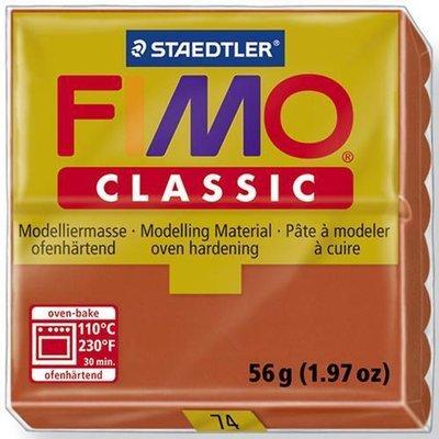Fimo classic marrone N 74