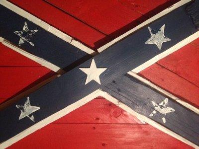 Quadro Bandiera Stati confederati