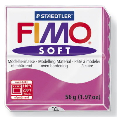 Fimo soft lampone N 22