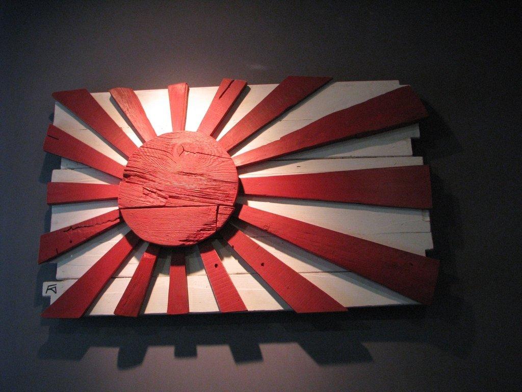 Quadro bandiera Giappone