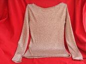 maglia donna oro