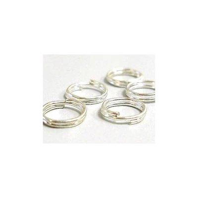 Anellini brisè argento
