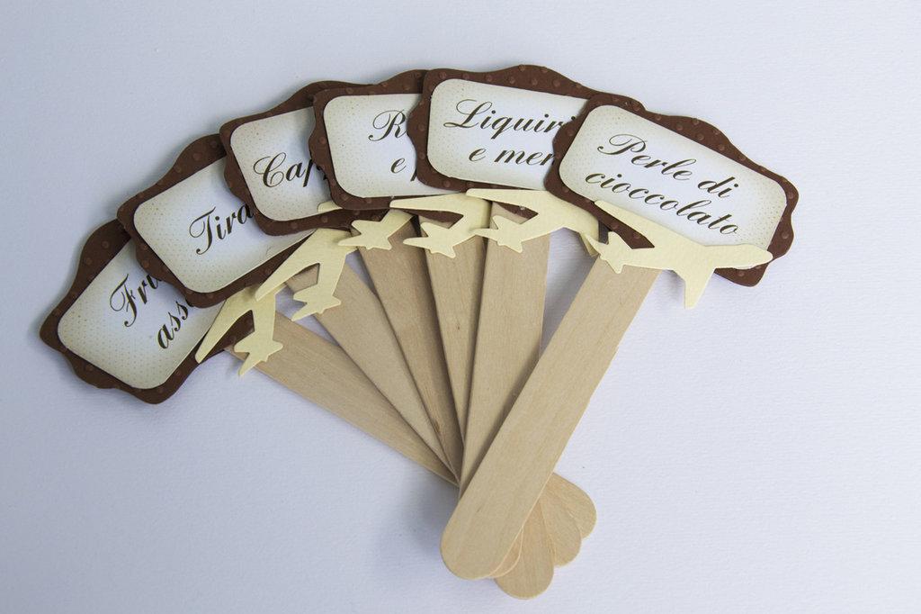Eccezionale targhette confettata - Feste - Matrimonio - di ladysign | su MissHobby DQ32
