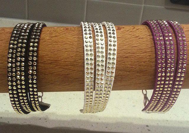 braccialetto tre fili