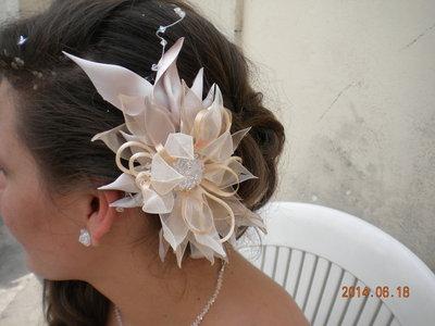 acconciatura  per  spose  e cerimonia