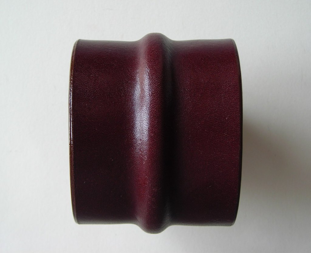 bracciale pelle cuoio Colin Farrell style leather cuff wristband