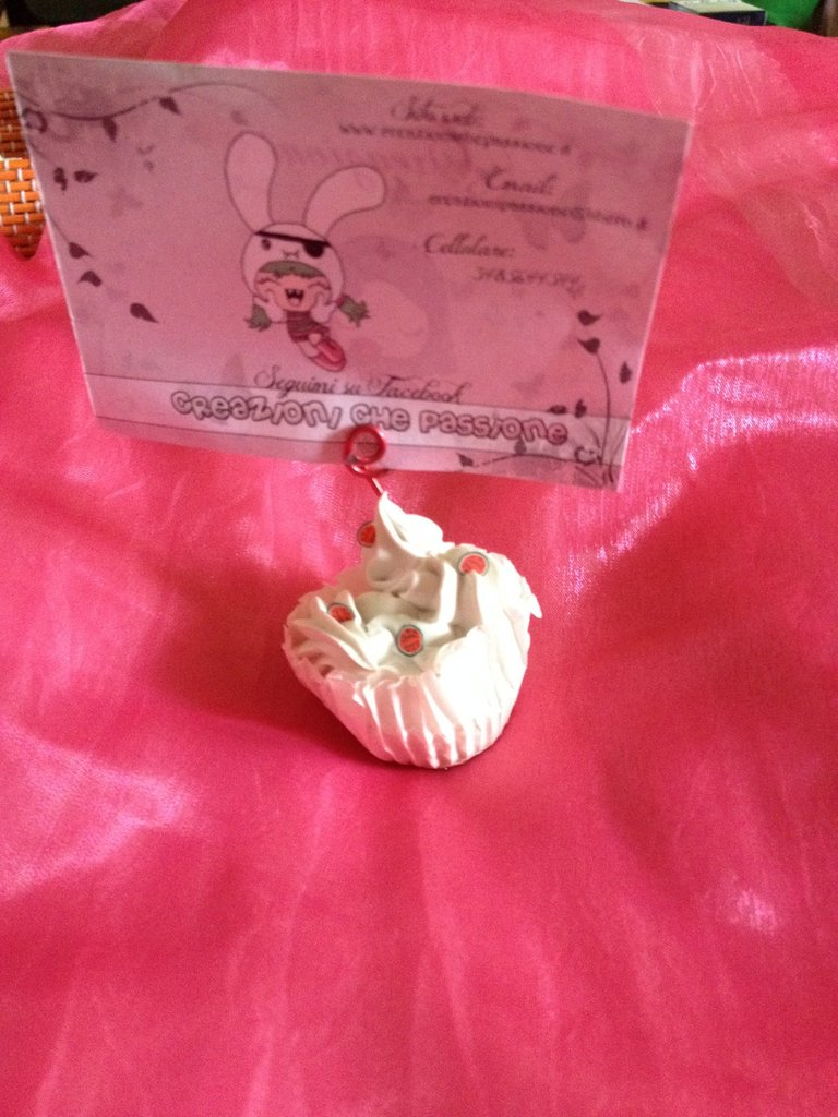 Porta memo Cupcake anguria