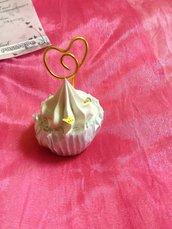 Porta memo Cupcake melone