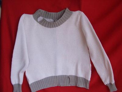 maglia donna bicolore
