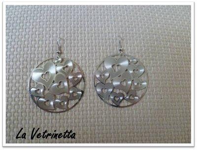 """Orecchini La Vetrinetta """"Cuori <3"""""""