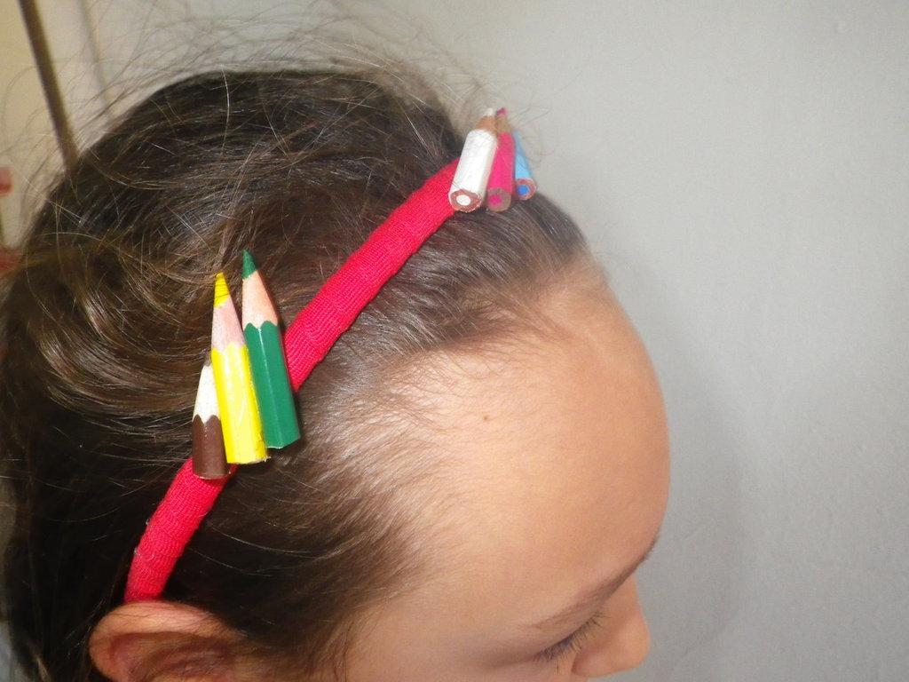 Cerchietto con matitine