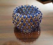 Bracciale con Cristalli blu