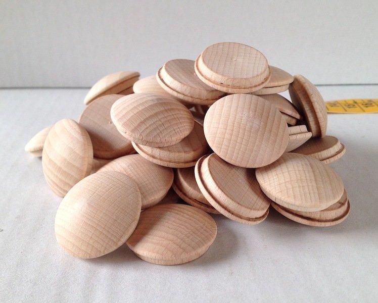Bottone in legno 2,4 cm