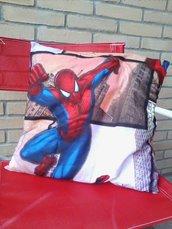 Cuscino arredo spiderman