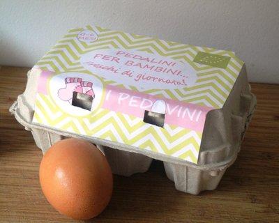 """""""I Pedovini"""", pedalini per bambini freschi di giornata! Idea regalo nascita, compleanno, Battesimo"""