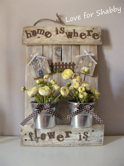 shabby and romantic pallet