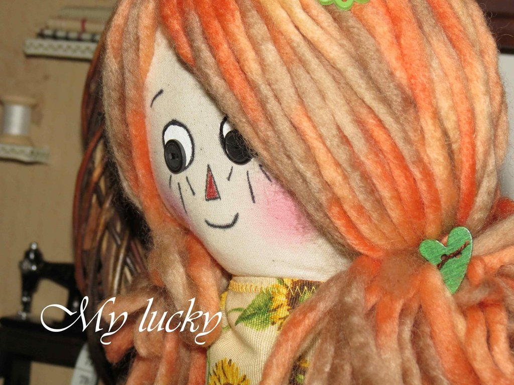 Raggedy doll My lucky.