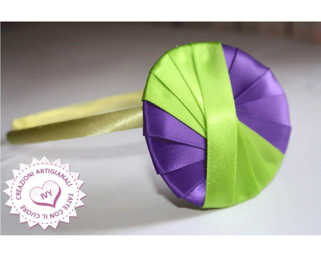 cerchietto Verde pistacchio